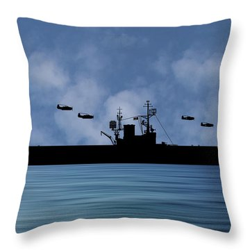 Warship Throw Pillows