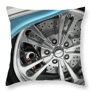Custom Car Wheel Throw Pillow by Oleksiy Maksymenko