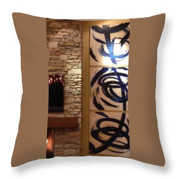 Custom Throw Pillow by Heather Roddy