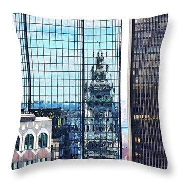 Custom House Reflection Throw Pillow