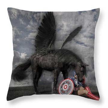 Custom Knapp 322 Throw Pillow
