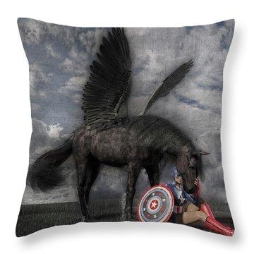 Custom Knapp 322 Throw Pillow