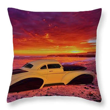 Throw Pillow featuring the photograph Custom Lead Sled by Louis Ferreira