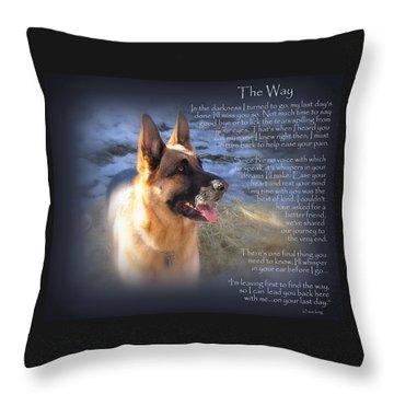 Custom Paw Print Maxx Throw Pillow