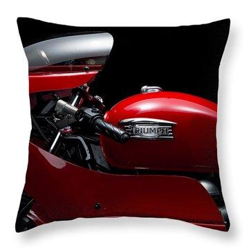Custom Thruxton Throw Pillow