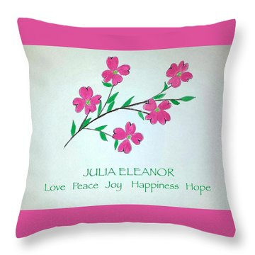 Customize A Print, Tote, Phone Case Etc. Your Choice Throw Pillow