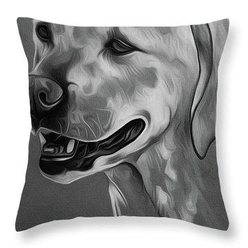 Cute Dog 03 Throw Pillow