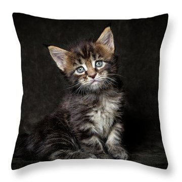 Cute Face Throw Pillow