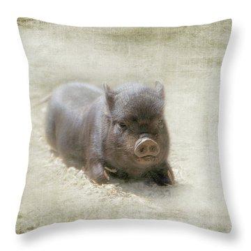 Cuteness Incarnate Throw Pillow