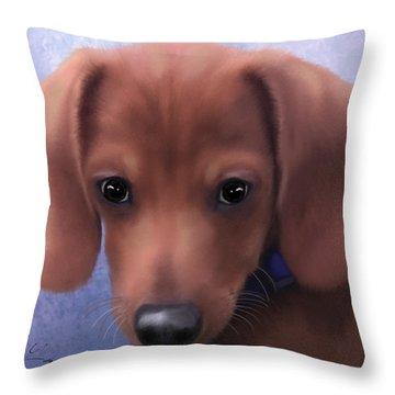 Cuteness Overload Throw Pillow