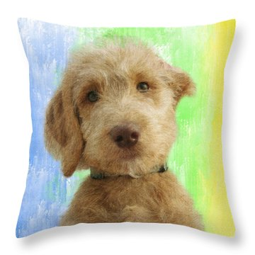 Cuter Than Cute Throw Pillow