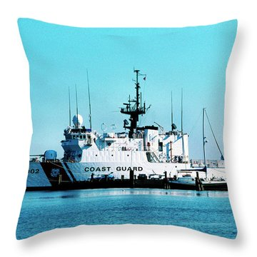 Cutter Tampa Throw Pillow by Thomas R Fletcher