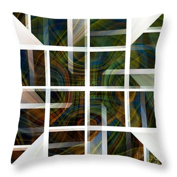 Cutting Life Throw Pillow