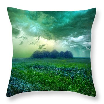 Cutting Loose Throw Pillow