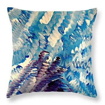 Cy Lantyca 35 Throw Pillow