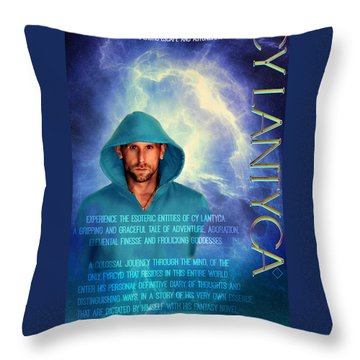 Cy Lantyca Throw Pillow