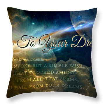 Cy Lantyca's Traditions Throw Pillow