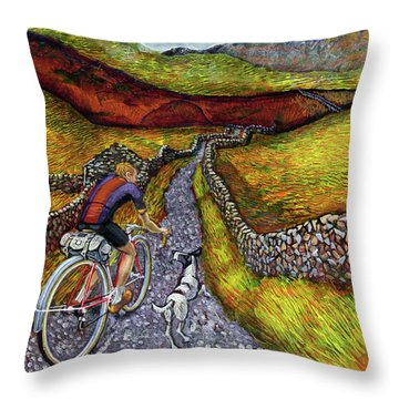 Lancashire Lanes II Throw Pillow