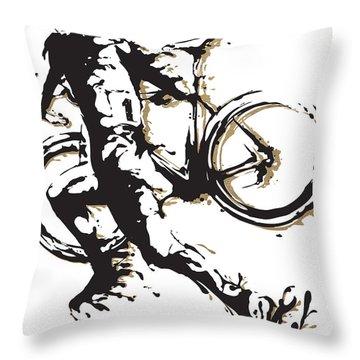 Cyclocross Poster1 Throw Pillow