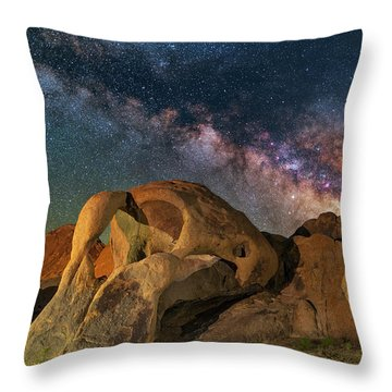 Cyclops Throw Pillow