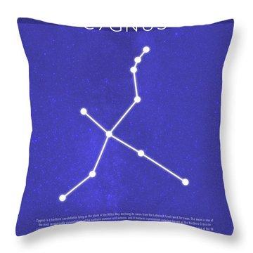 Cygnus Throw Pillows