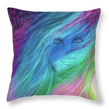 Cyndi 5th Dimension Throw Pillow