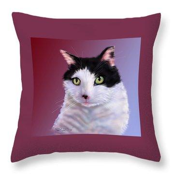 Cyndie's Bob Throw Pillow