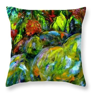 Cynometra Cauliflora Throw Pillow