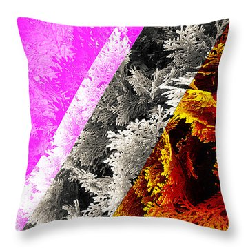 Cypress Branches No.4 Throw Pillow