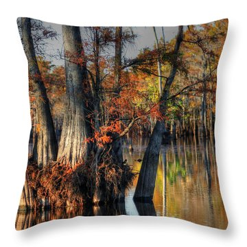 Cypress Group  Throw Pillow by Ester  Rogers