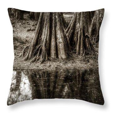 Cypress Island Throw Pillow