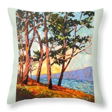 Cypress Light Throw Pillow