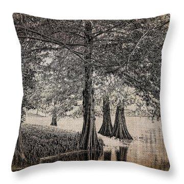 Cypress Retreat Throw Pillow