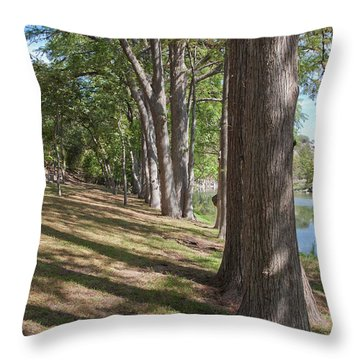 Cypress Shade Throw Pillow