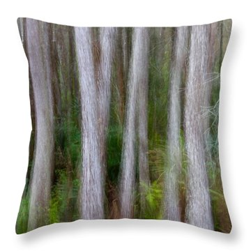 Cypress Swamp Throw Pillow