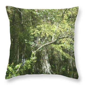 Cyprus Throw Pillow