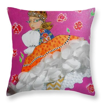 Czardas -- #2 Hungarian Rhapsody Series Throw Pillow