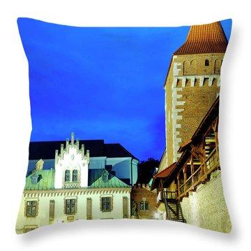 Throw Pillow featuring the photograph Czartoryski Museum by Fabrizio Troiani