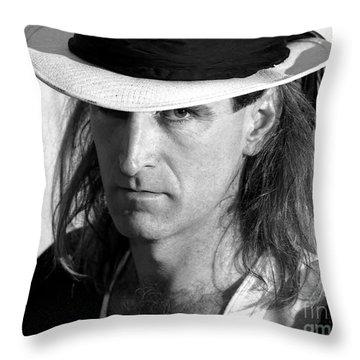 D Throw Pillow