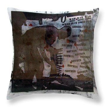 D U Rounds Project, Print 1 Throw Pillow