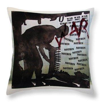 D U Rounds Project, Print 2 Throw Pillow