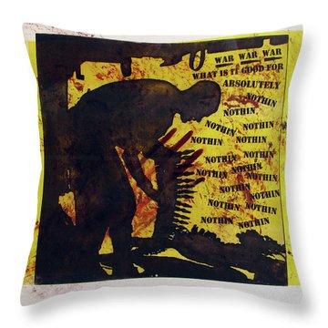 D U Rounds Project, Print 3 Throw Pillow
