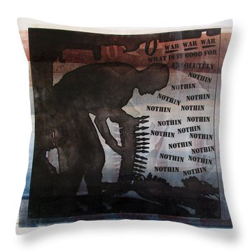 D U Rounds Project, Print 4 Throw Pillow