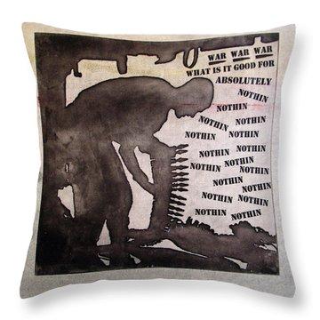 D U Rounds Project, Print 10 Throw Pillow
