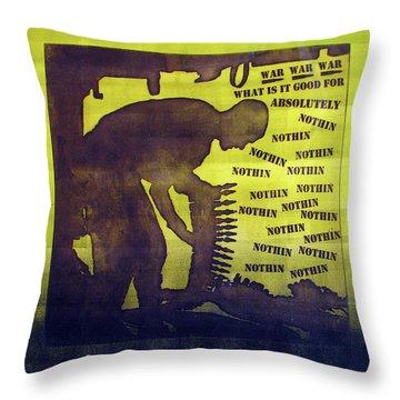 D U Rounds Project, Print 11 Throw Pillow