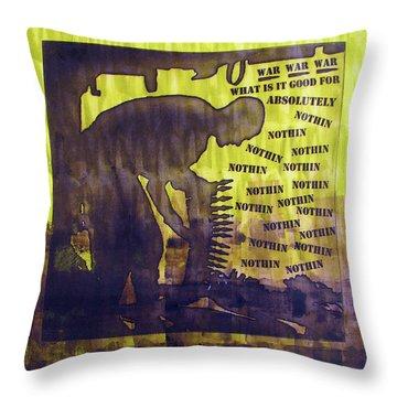 D U Rounds Project, Print 12 Throw Pillow