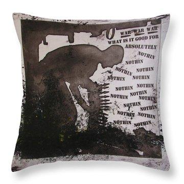 D U Rounds Project, Print 13 Throw Pillow