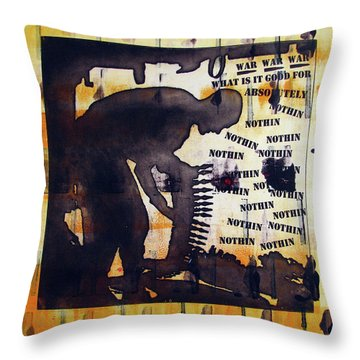 D U Rounds Project, Print 14 Throw Pillow