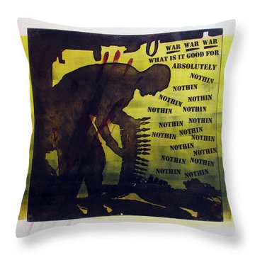 D U Rounds Project, Print 16 Throw Pillow