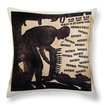 D U Rounds Project, Print 17 Throw Pillow